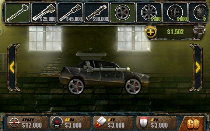 death rally android cheat codes