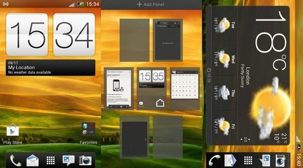 CoolDroid Revolution v 7.1 для HTC Desire HD