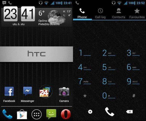 EuroSkank 7.2 Nightly для HTC Desire