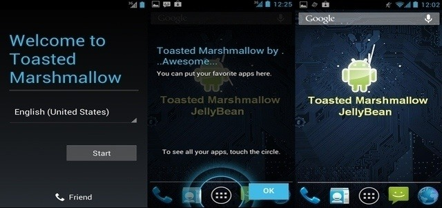 Toasted Marshmallow v.1 для HTC One S