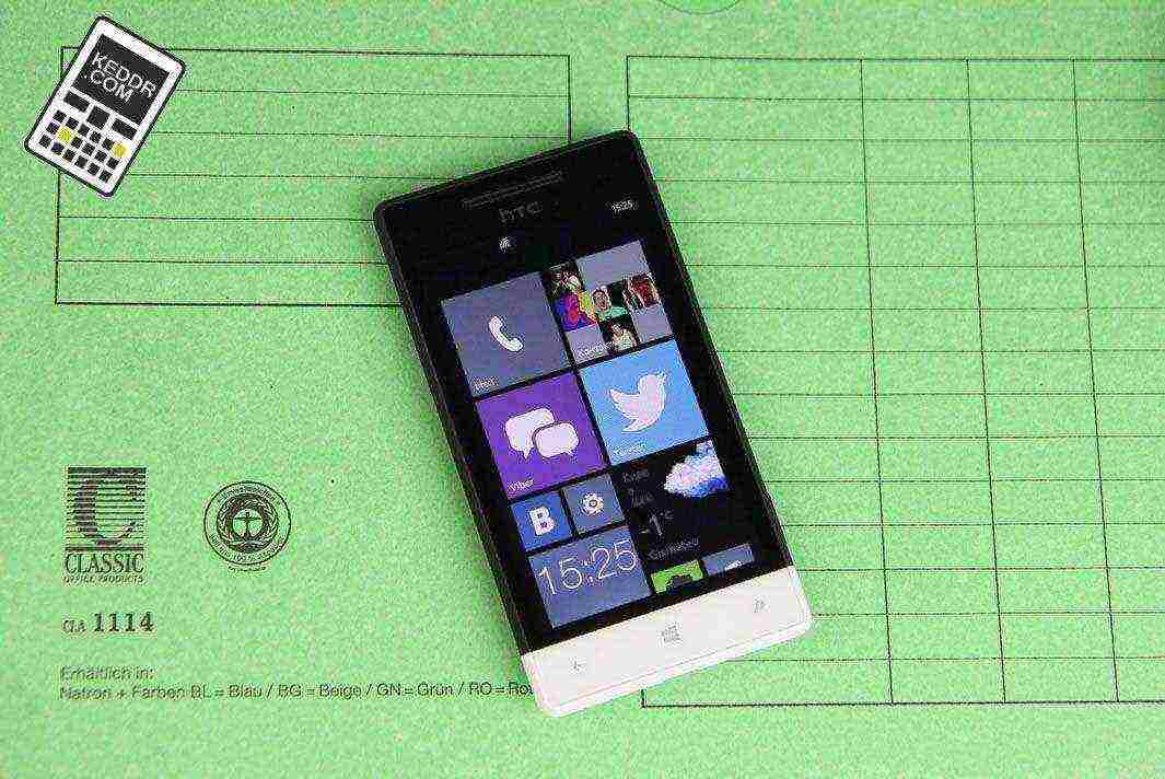 Экран HTC Windows Phone 8S