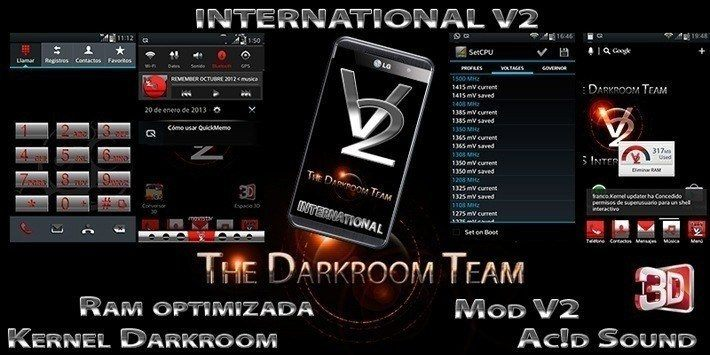 DARKROOM International V2 для LG Optimus 3D
