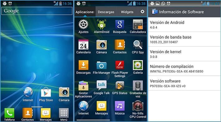 IZS v0 для LG Optimus Black