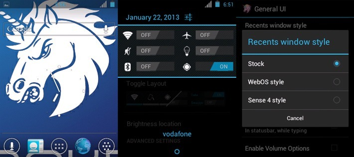 Ultra Smooth Aokp Milestone 6 version 1.0 для HTC Wildfire
