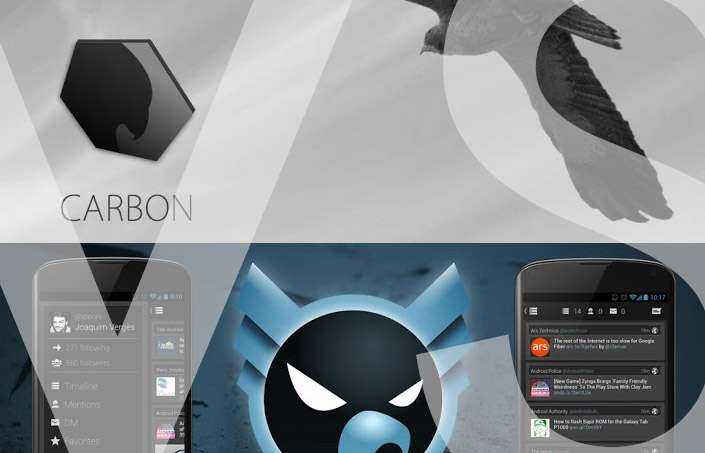 Carbon for Twitter vs Falcon Pro
