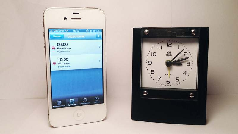 Clock - iPhone 4S