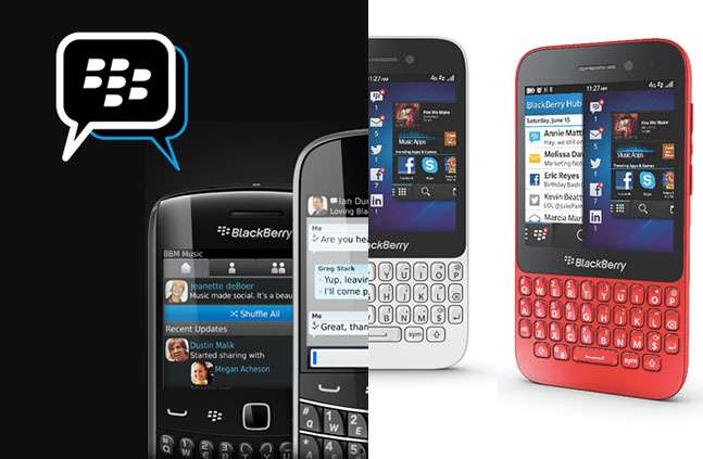 Blackberry Q5 и BBM