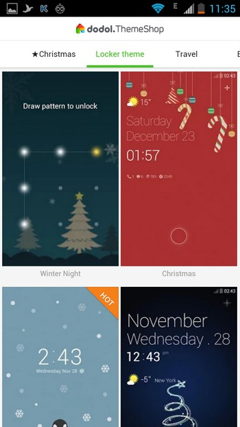 Dodol Locker - Locker Theme