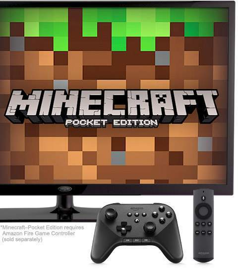 Amazon Fire TV - Minecraft