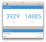 Hackintosh - Geekbench score