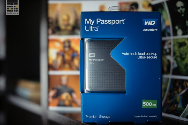 WD My Passport Ultra 500 GB