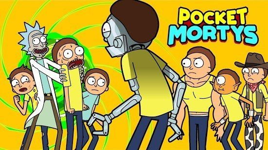 Обзор Pocket Mortys