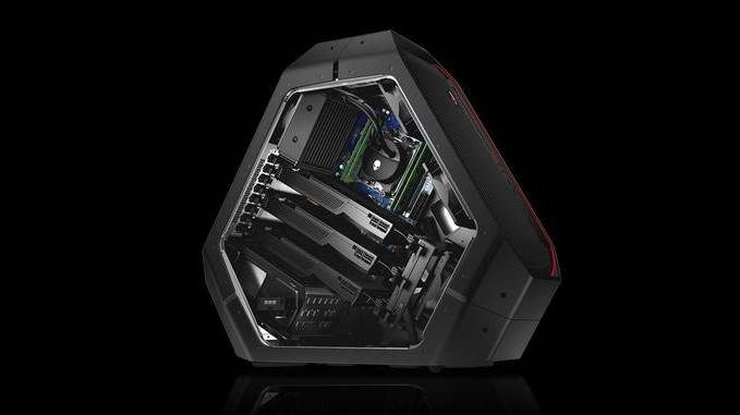 Dell представила Alienware Area 51 с Intel Core-X и Ryzen Threadripper